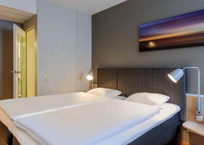 Ibis Bremen City Standard Zimmer Bettanlage und Bad